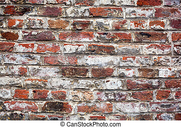 red brick wall texture background - old red brick wall...