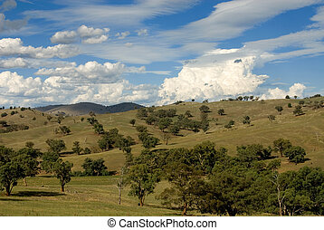 Approaching Storm - A rural scene in country New South Wales