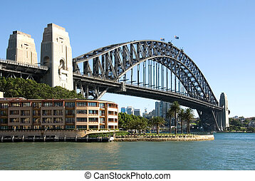 Sydney Harbour Bridge - The famous Harbour Bridge, Sydney...