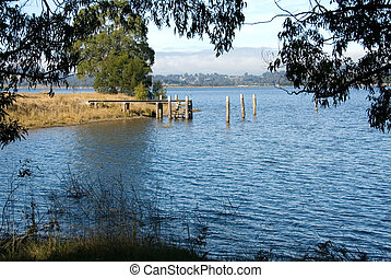Wingecarribee Dam, near Bowral, New South Wales, Australia