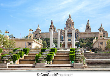 National Art Museum in Barcelona, - The National Art Museum...