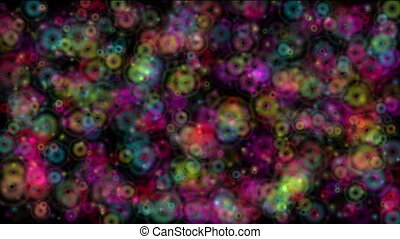 abstract spots color