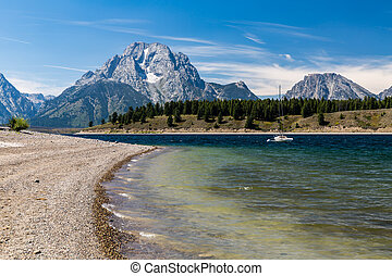 Grand Teton National Park, Wyoming, USA - Views of the Jenny...