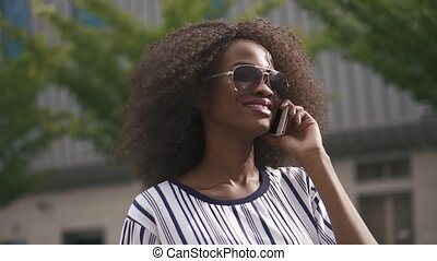 Confident young african american business woman in...