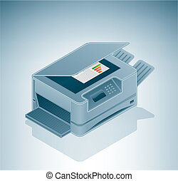 Laser Photo Copier is a part of the Isometric 3D Computer...