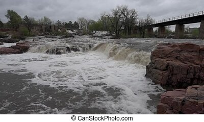 Sioux Falls Steady Raw flat profile - Falls Park - Sioux...