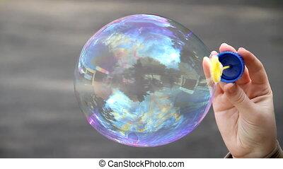 Bubbles - Blowing bubbles