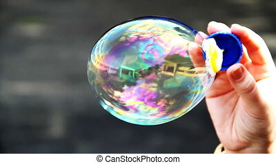 Bubbles - Blowing bubbles