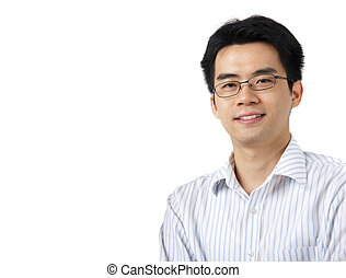 Handsome Asian - Close up on good looking Asian Male