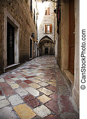 Old town of Kotor - Amazing narrow streets in old town of...