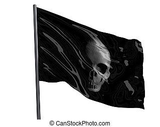 Skull Pirate Flag