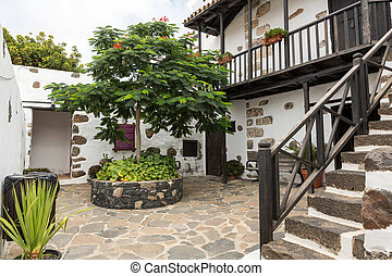 Betancuria village onFuerteventura, Canary Islands, Spain