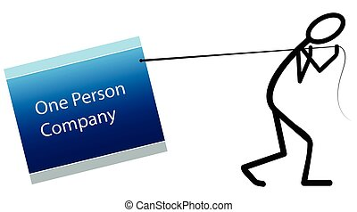 One person company - Single Person Company logo
