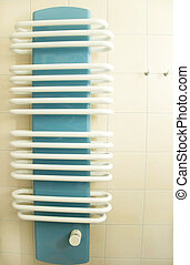 bathroom radiator in modern style