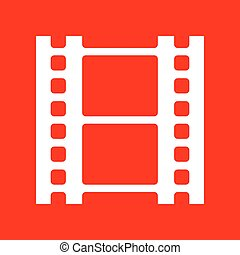 Reel of film sign