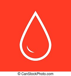 Drop of water sign