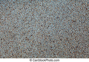 Beach sand - Fine and smooth taupe beach sunlit sand Close...