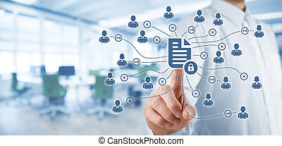 Data management and privacy - Corporate data management...