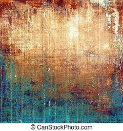 Scratched vintage colorful background, designed grunge...