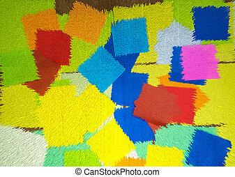 Digital art pattern