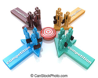 Partnership or competition metaphor