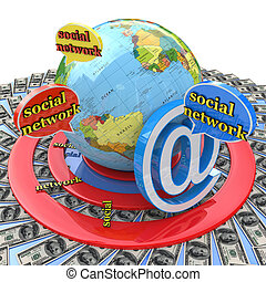 financial target social network for information related to...