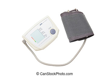 Blood pressure measuring instrument under the light...