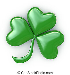 Clover with three leafs - Patrick's day