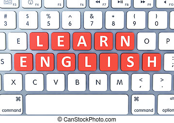 Hot key for Learn English on Modern Computer Keyboard Top...