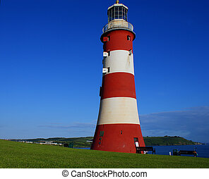 Plymouth lighthouse