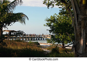 Fishing Pier - Lighthouse Beach and Fishing Pier Sanibel...