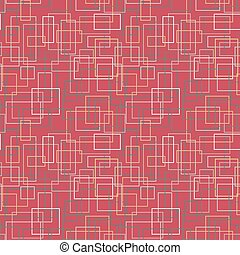 Seamless pattern of colored rectangles