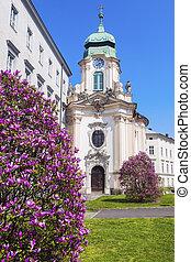 Priesterseminarkirche in Linz Linz, Upper Austria, Austria