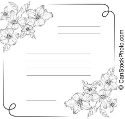 Vector Ornament. Easy to edit. Perfect for invitations or announcements.