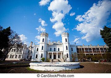 Sharovsky castle - White castle called Sharovsky in Ukraine...