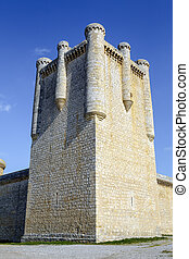 Castle Communards Torrelobaton in Valladolid, Spain Declared...