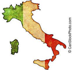 mapa, Włochy