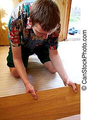 Flooring installation