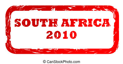 South Africa 2010 stamp