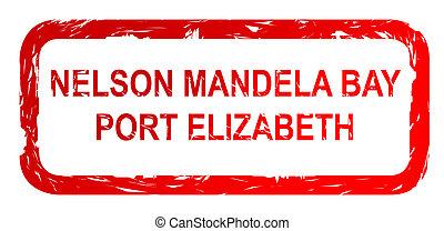 Port Elizabeth city stamp
