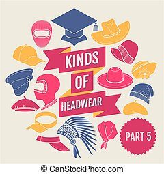 Kinds of headwear
