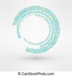 Abstract background. Vector Logo element