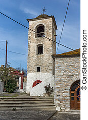 Village of Theologos, Thassos - Bell Tower of Orthodox...