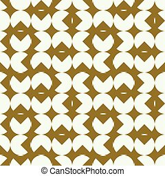 Graphic simple ornamental tile, vector repeated pattern made...