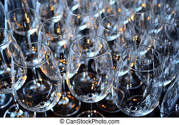 Wine glasses abstract background texture