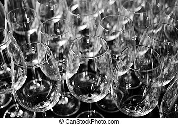Wine glasses abstract background texture. (NW)