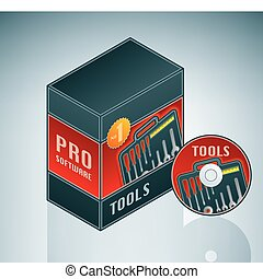 Tools Software Bundle is a part of the Isometric 3D Computer...