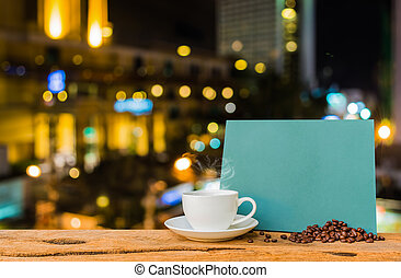 image of blurred bokeh background with warm colorful night lights