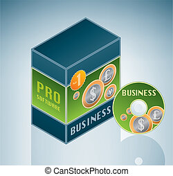 Business Software Bundle is a part of the Isometric 3D...