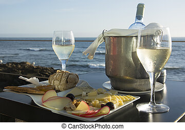 Fine Service with a View - Wine and Cheese by the Atlantic...